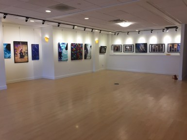 Interior photo of The Gallery at Main Street Landing