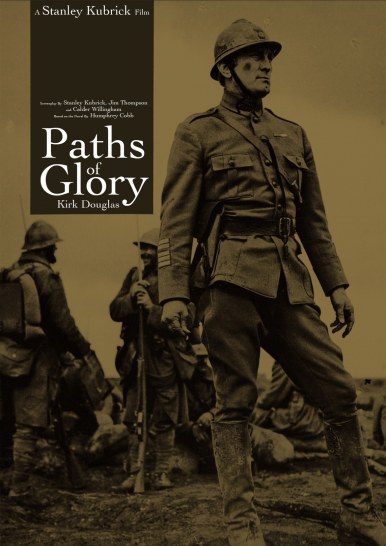 film poster of Paths of Glory