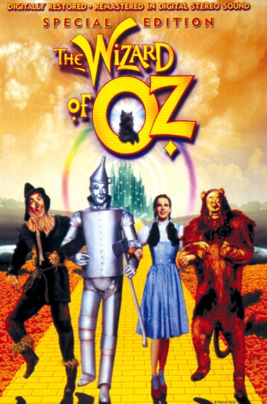 film poster of The Wizard of Oz