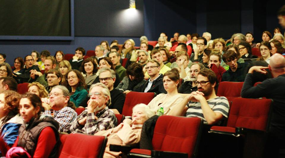 Audience in Film House