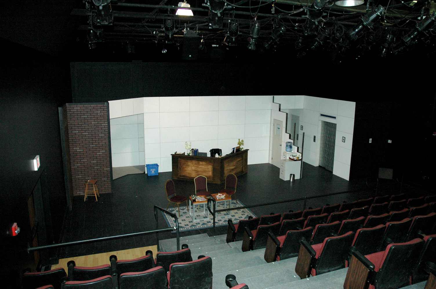 Main Street Landing Black Box Theatre